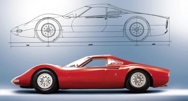 Rétromobile 2017 : le prototype de la Ferrari Dino sera à vendre