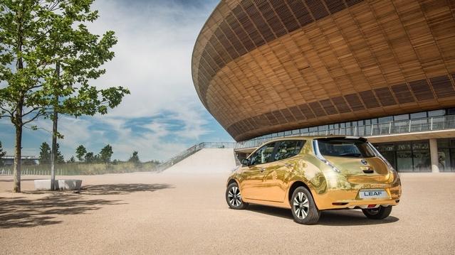 JO 2016 : une Nissan Leaf en or pour les médaillés anglais