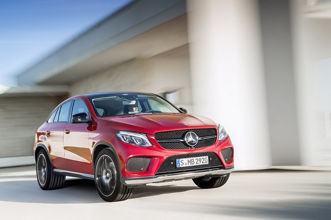 Mercedes GLE Coupé : officiel