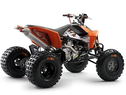 Nouveauté 2008 : KTM sort son ATV