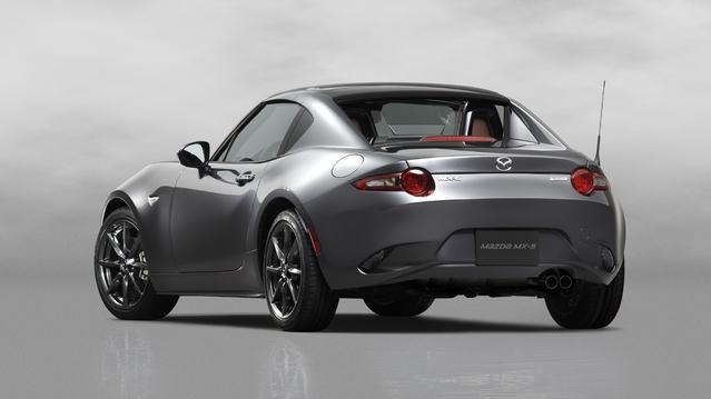 Ne cherchez pas la nouvelle MX-5 RF à toit rigide rétractable: Mazda ne sera pas au Salon de Paris.