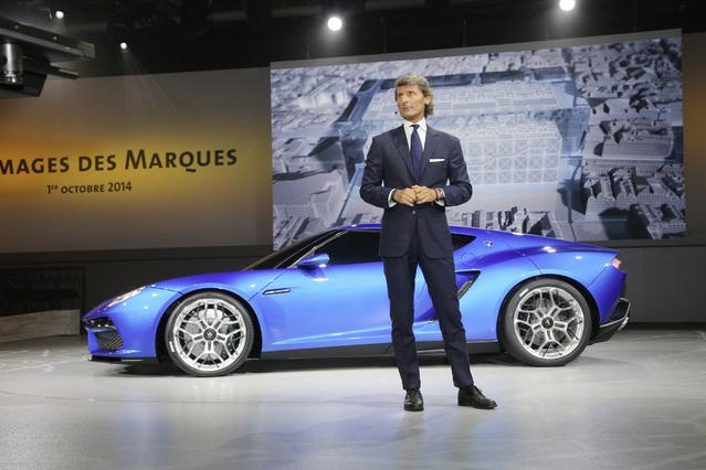 Lamborghini avait fait sensation à Paris en 2014 avec le concept Asterion à moteur hybride.