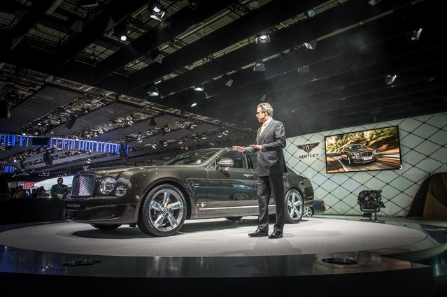 Avec 51 ventes de janvier à juillet, la France est un petit marché pour Bentley. De quoi justifier une absence au Mondial.