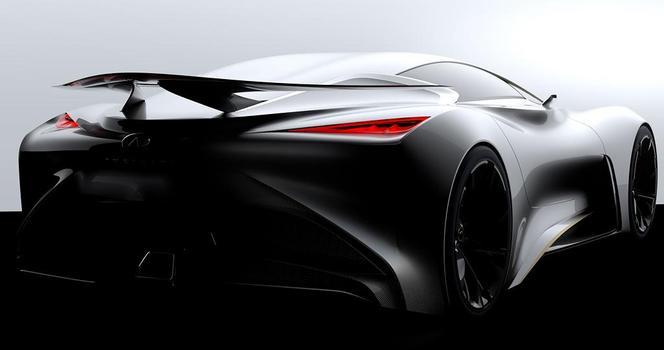 Infiniti dévoile une partie de son Concept Vision Gran Turismo