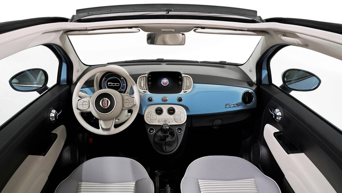 fiat 500 spiaggina 58 une s rie sp ciale et un showcar. Black Bedroom Furniture Sets. Home Design Ideas