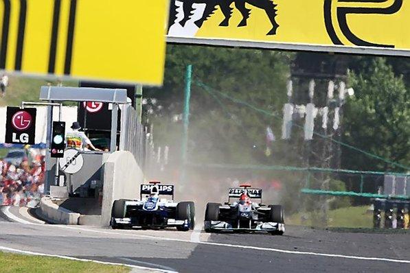 F1 Hongrie : Webber contre toute attente