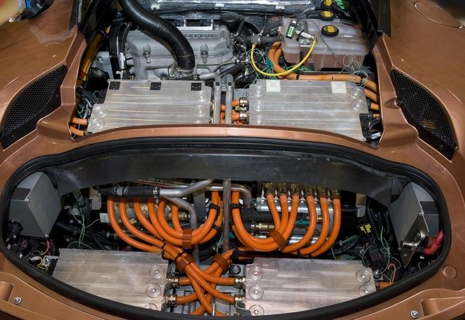 La Lotus Evora 414E Hybrid roule