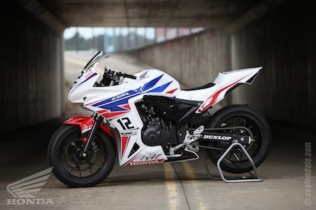Honda CBR500R Cup 2015: c'est reparti