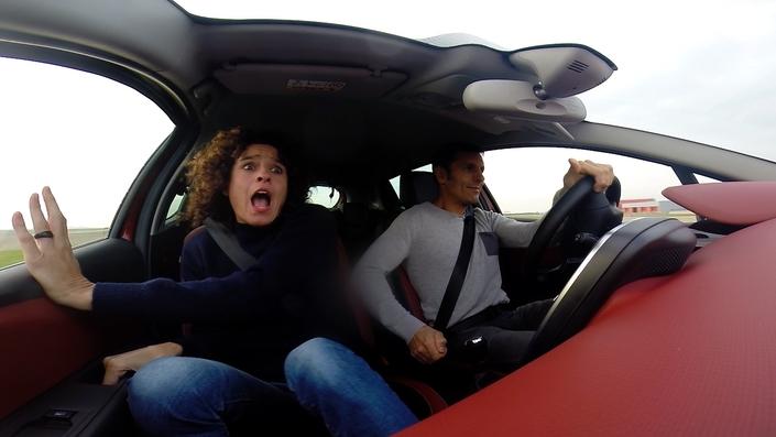 C'est bien d'apprendre à piloter avec Soheil Ayari, mais parfois, ça créé des sensations !