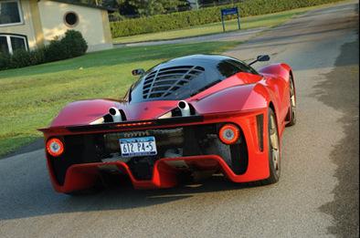 Ferrari P4/5: exhaust restyle !