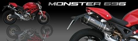 Silencieux SC Project pour la Ducati Monster 696 [+ vidéo]