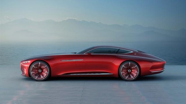 Surprise : voici le concept Mercedes-Maybach 6 en avance
