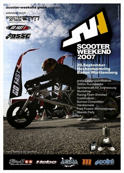 Le week end du scooter arrive!