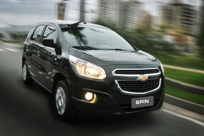 Chevrolet Spin : un monospace pour l'Asie et l'Amérique du Sud