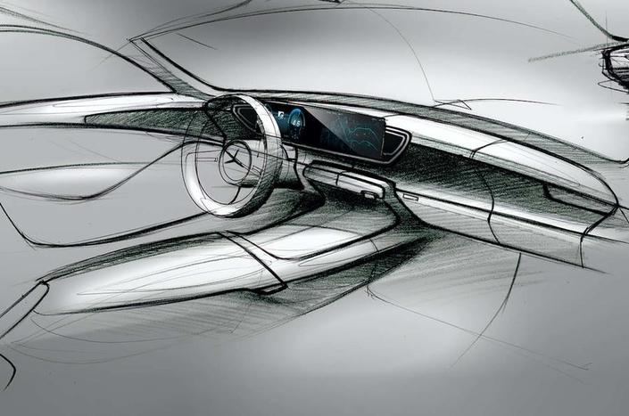 Mercedes commence à dévoiler l'intérieur du GLE