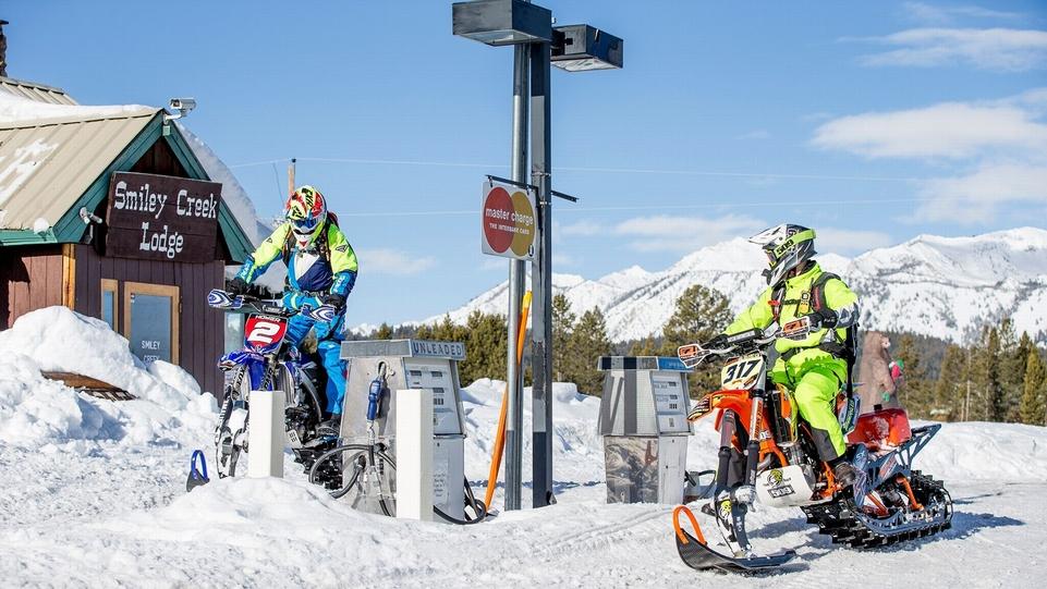 Video : du MX dans la neige au X-Games d'Aspen