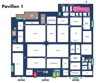 """Pavillon 1, le """"hangar"""" des françaises."""