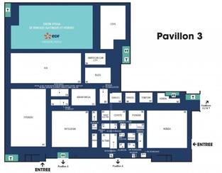 Pavillon 3, le hangar des asiatiques.