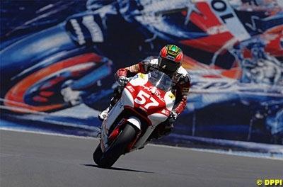 Moto GP 2008: Chaz Davies a un ami qui lui veut du bien