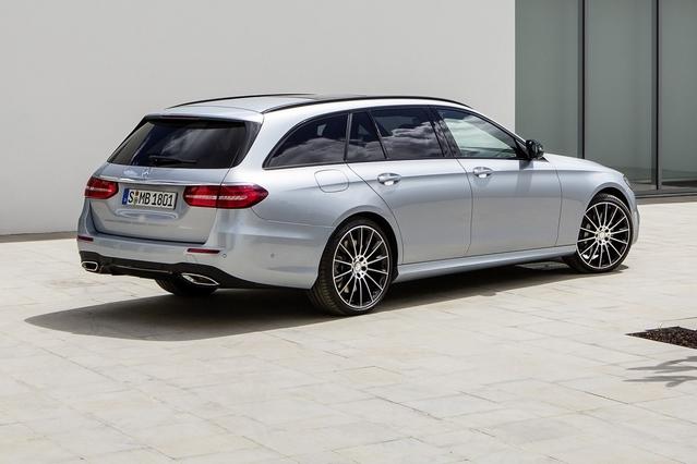 Très séduisante, la nouvelle Mercedes Classe E SW est une vitrine technologique.