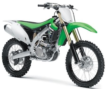 Kawasaki dévoile ses KX250F et KX450F millésime 2014