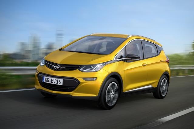 L'Opel Ampera-e est peut-être l'auto la plus prometteuse de ce Mondial 2016.