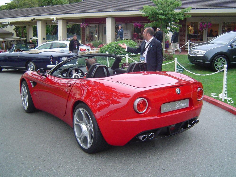 Future Alfa Romeo 8C Competizione Spider pour 2009