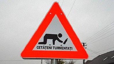 Sécurité routière: En Roumanie l'automobiliste doit être carré quand le piéton est rond