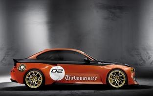 Pebble Beach 2016 : la BMW 2002 Hommage Concept en tenue de course