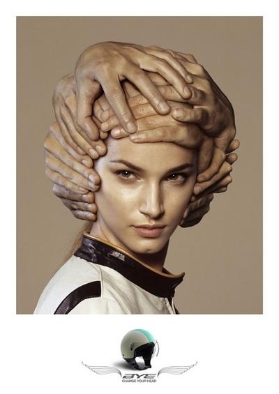 Pub du jour : Portez votre casque par Bye Helmet