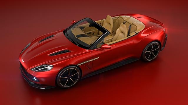 Aston Martin Zagato Volante : par beau temps