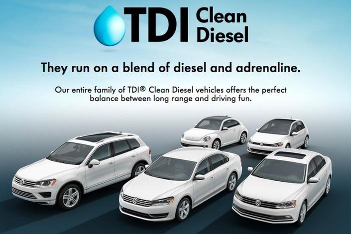 """""""Clean diesel"""", disaient les publicités VW pré-dieselgate..."""