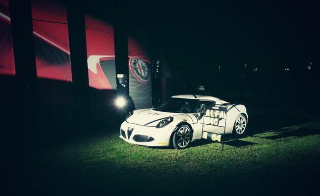 Ring Folies : l'Alfa Romeo 4C en 8'04''