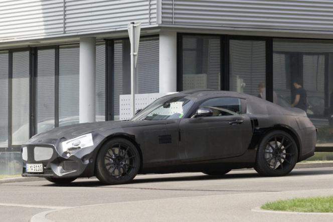 AMG GT, le vrai nom de la future Mercedes SLC