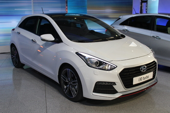 Voici la i30 restylée version 1.6 Turbo