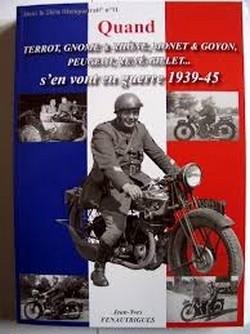 Lu pour vous: idée cadeau: Quand Terrot, Gnome & Rhône...s'en vont en guerre.