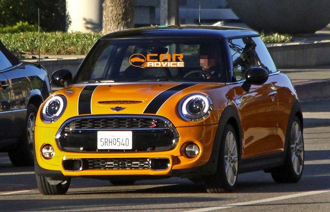 La future Mini Cooper S se dévoile entièrement