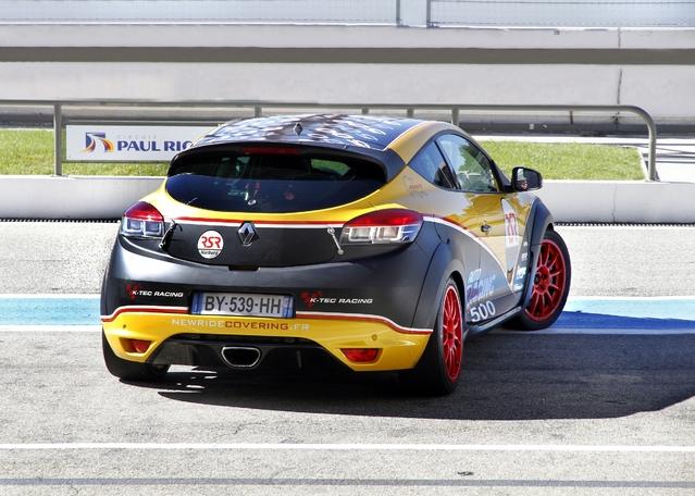 La Mégane RS préparée par Dijon Auto Racing