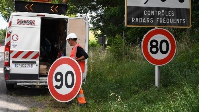 #BalanceTonPanneau: carton rouge pour les 80km/h
