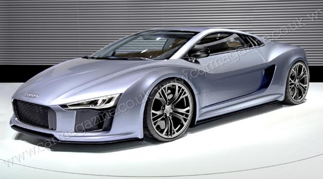 La future Audi R8 sortira en milieu d'année prochaine