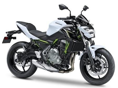 Kawasaki: la Z650 déjà en concession
