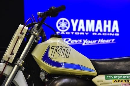 Rinaldi et Yamaha: 25 ans de collaboration