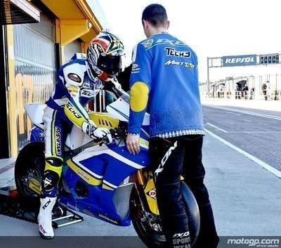 Moto 2 - Test Valence D.1: Simon et Elias sont les premières références