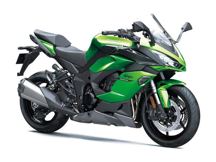 La 1000SX en vert, quoi de plus normal pour une Kawa?