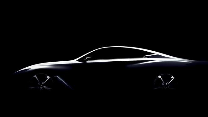 Detroit 2015 : l'Infiniti Q60 Concept sort de l'ombre