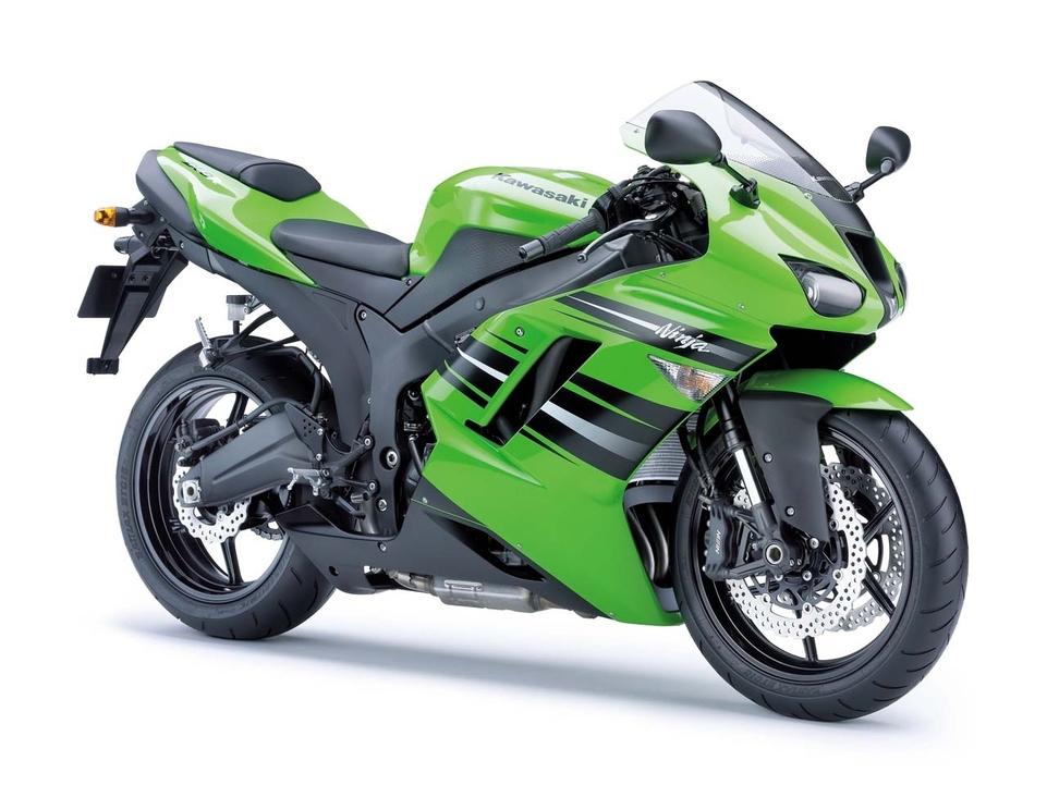 Nouveauté 2008 : Kawasaki Ninja ZX-6R