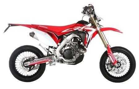 Nouveauté 2017: Honda 450 CRF... les versions Supermoto