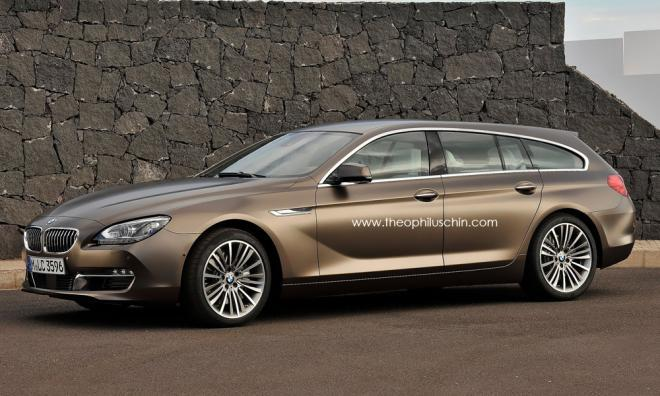BMW : la Série 6 Gran Touring prévue pour 2014 ?
