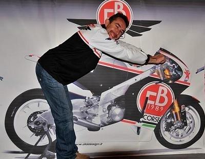 Moto GP - FB Corse: Le chronomètre attend toujours la FB01 de pied ferme