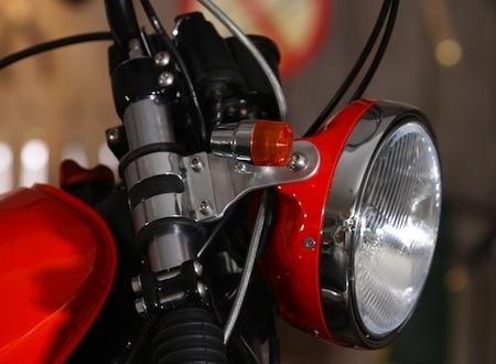 La Yamaha Scrambler 500 by Classic Machines